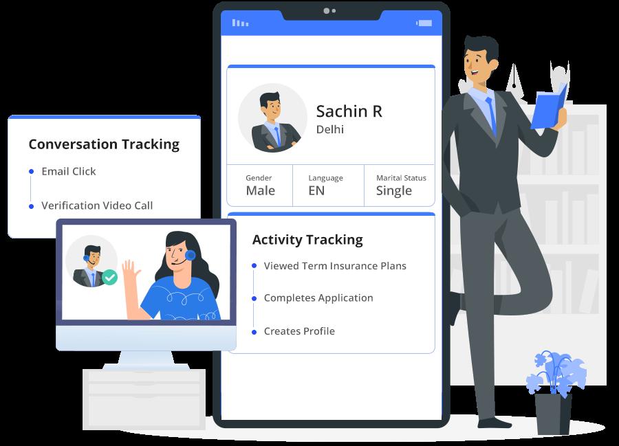 Customer journey builder - prospect profiles