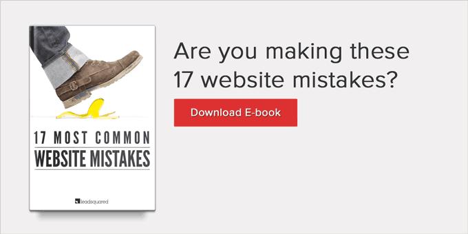 Website optimization mistakes to avoid